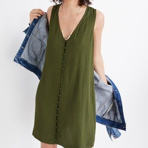 Madewell | Heather Button Front Tank Dress